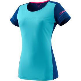 Dynafit Alpine Camiseta Manga Corta Mujer, Turquesa/azul